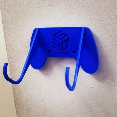 PlayStation 4 game pad hanger 3D Print 314461
