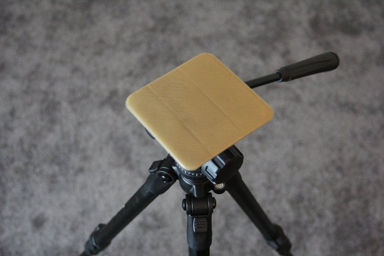 Tripod Platform Attachment 3D Print 31459