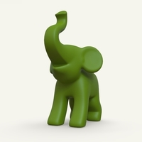 Small elephant 3D Printing 314820