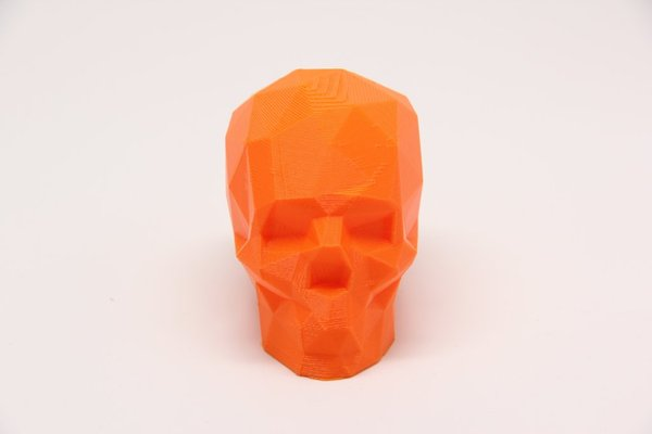 Medium Low Poly Skull (1) 3D Printing 31494