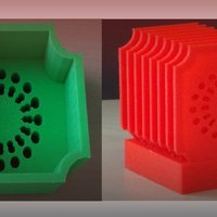 Small Coaster box and Coaster/Plate rack (1) 3D Printing 31526