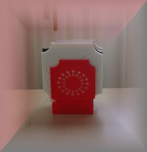 Coaster box and Coaster/Plate rack (1) 3D Print 31528