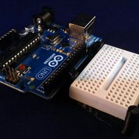Small Arduino and Mini Breadboard Caddy 3D Printing 31550