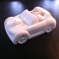 Small Toycar 3D Printing 3157