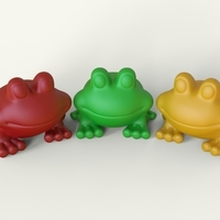 Small frog 3D Printing 316057