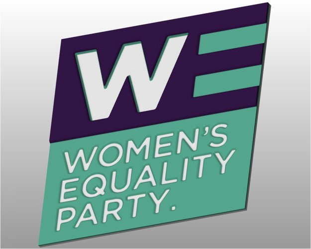 Women's Equality Party logo 3D Print 31618