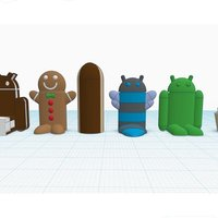 Small Android #Chess 3D Printing 31668