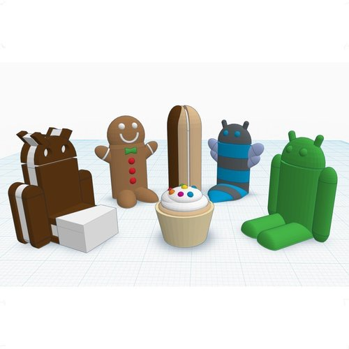 Android #Chess 3D Print 31669
