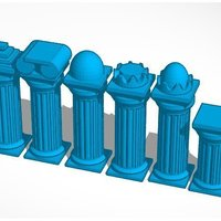 Small Column #Chess 3D Printing 31682