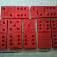 Small Set of Dominoes for printing 3D Printing 31746