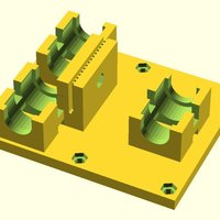 Small Linear Bearing  X Axis Carriage for ToM 3D Printing 31747