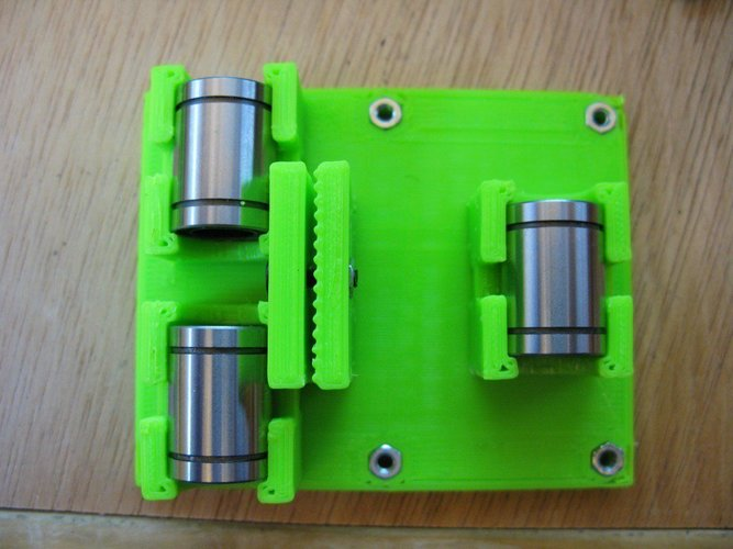 Linear Bearing  X Axis Carriage for ToM 3D Print 31748