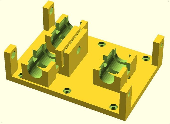 Linear Bearing  X Axis Carriage for ToM 3D Print 31754