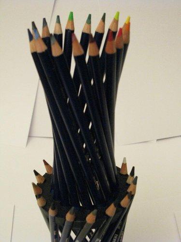 3d Printed Hyperboloid Pencil Holder By Makealot Pinshape