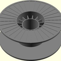 Small Makerbot Spool model 3D Printing 31784