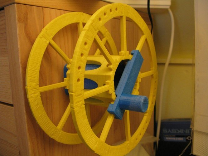 Yet Another Printable Spool - Crank 3D Print 31785