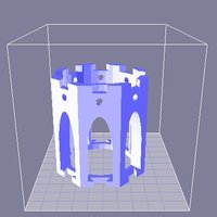 Small Yet Another Printable Spool 3D Printing 31796