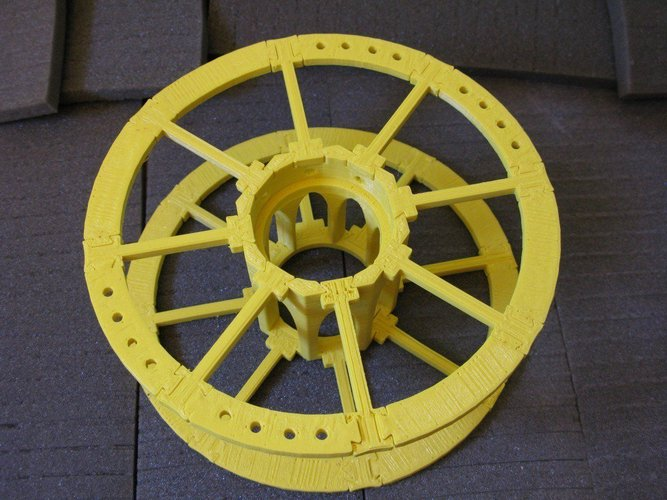 Yet Another Printable Spool 3D Print 31805
