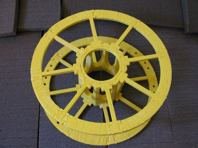 Yet Another Printable Spool 3D Print 31807