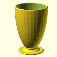 Small Plain Goblet 3D Printing 31824
