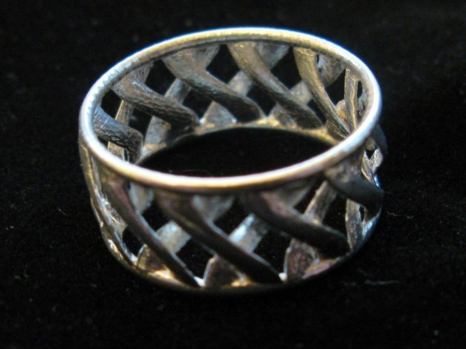 linkBracelet (or Ring when scaled!) 3D Print 31854