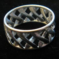Small linkBracelet (or Ring when scaled!) 3D Printing 31854