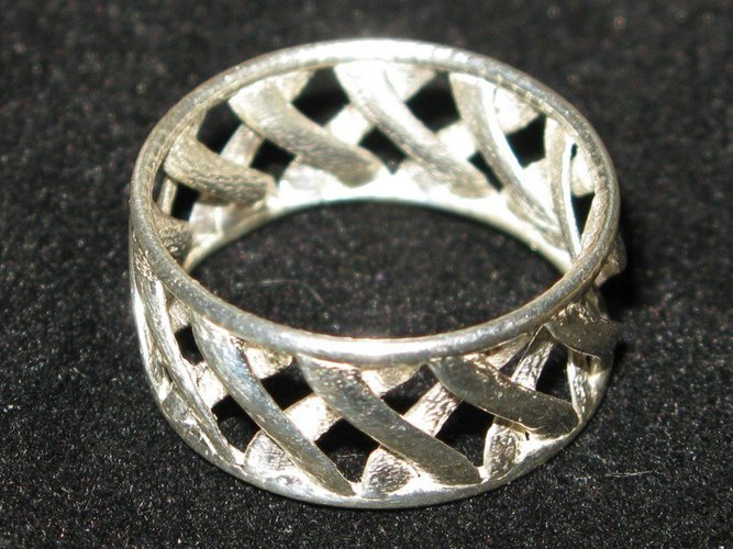 linkBracelet (or Ring when scaled!) 3D Print 31855