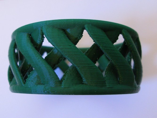 linkBracelet (or Ring when scaled!) 3D Print 31856