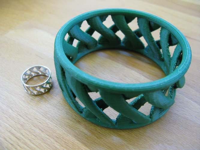 linkBracelet (or Ring when scaled!) 3D Print 31858