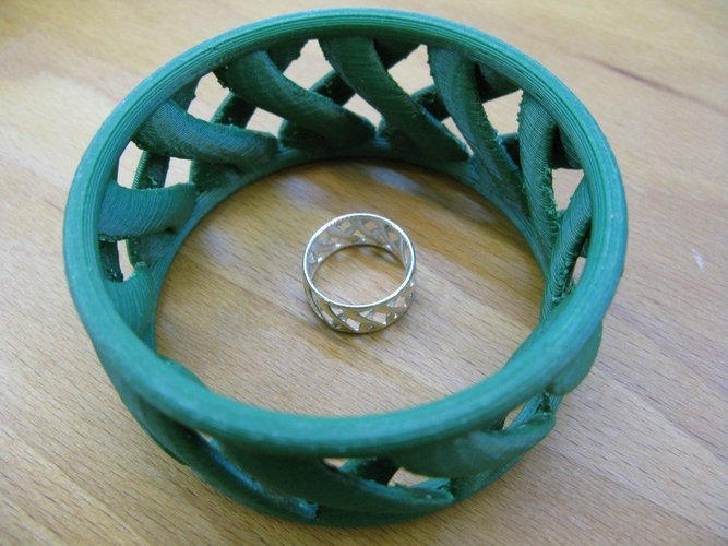 linkBracelet (or Ring when scaled!) 3D Print 31859
