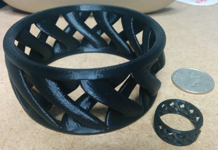 linkBracelet (or Ring when scaled!) 3D Print 31860