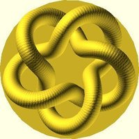 Small Parametric Knot 3D Printing 31892
