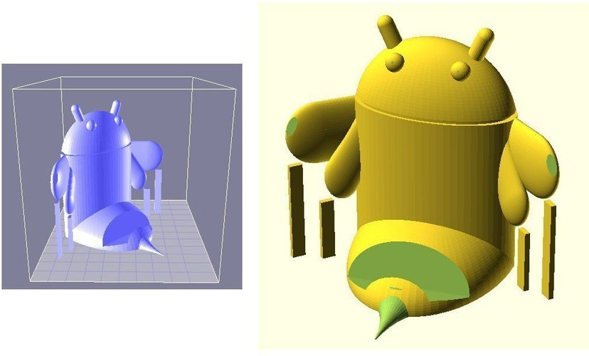 Android Honeycomb device rest 3D Print 31915