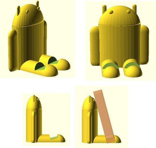 Android Device Rest 3D Print 31919