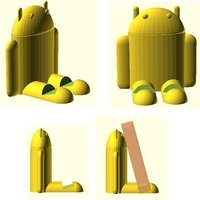 Small Android Device Rest 3D Printing 31919