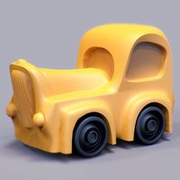 Small Lil Car 3D Printing 31927