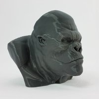 Small King Kong  3D Printing 31940