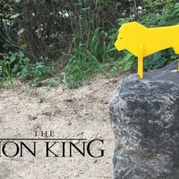 Small Simple Animals 12 - Lion King 3D Printing 31953