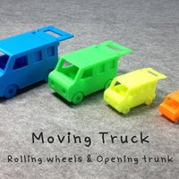 Small Moving Truck 3D Printing 31986