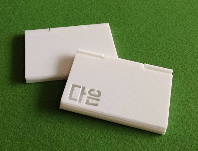Business card case 3D Print 32005