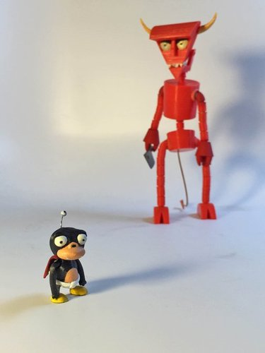 Lord Nibbler Articulated 3D Print 32030