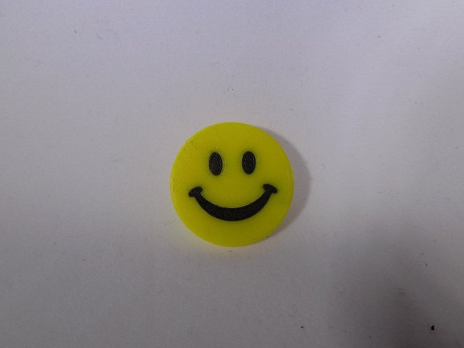 SMILEY FACE Golf Ball Marker 3D Print 32049