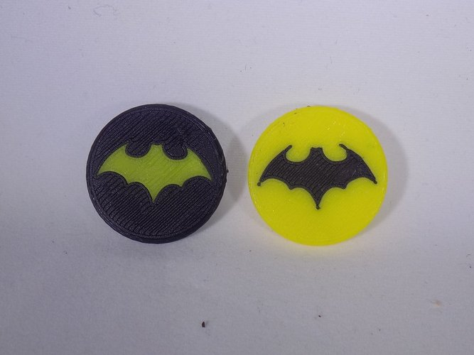 BATMAN Gold Ball Marker 3D Print 32067