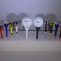 Small Royal-TEE... Golf Tee 3D Printing 32085