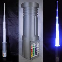 Small LIGHTSABER - LED - Fully Functional 3D Printing 32121