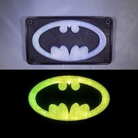 Small BATMAN LED Light/Nightlight 3D Printing 32139