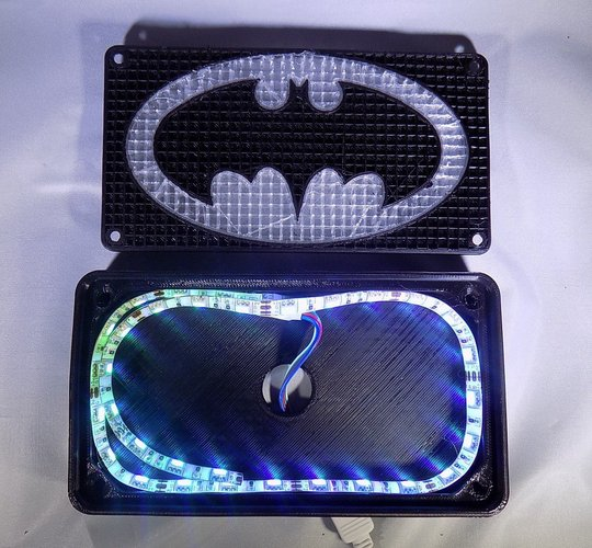 BATMAN LED Light/Nightlight 3D Print 32140