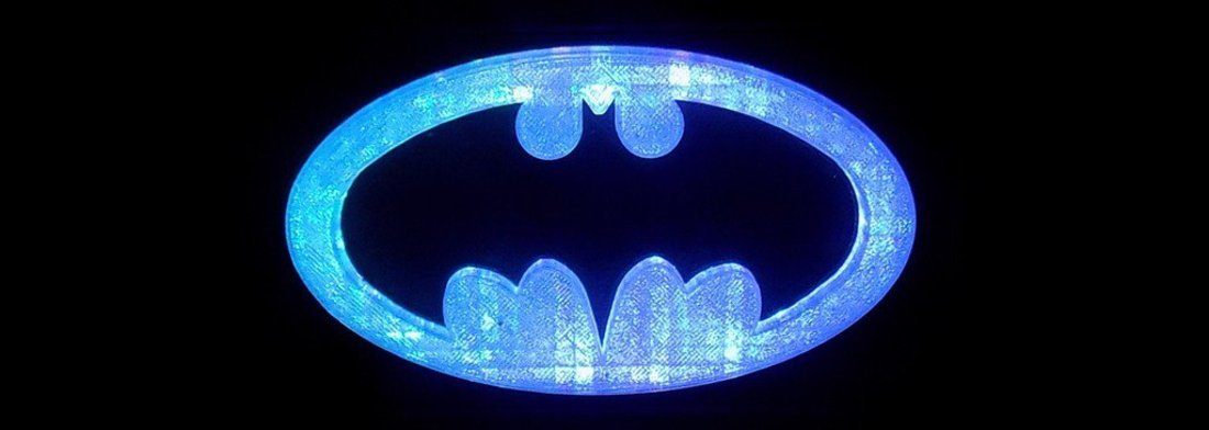 BATMAN LED Light/Nightlight 3D Print 32141