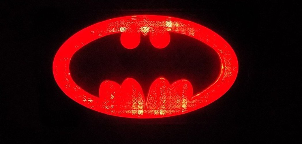 BATMAN LED Light/Nightlight 3D Print 32143
