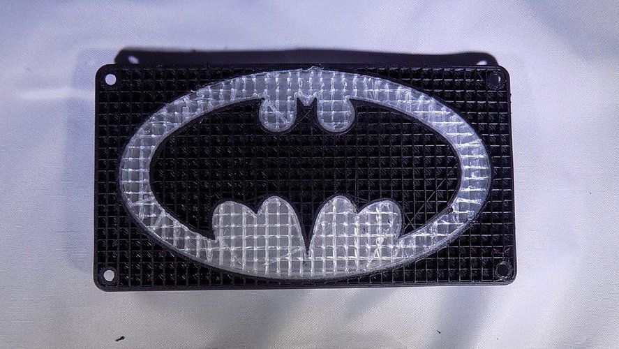BATMAN LED Light/Nightlight 3D Print 32147